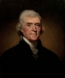 Thomas Jefferson (Public Domain)